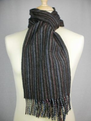 John Hanly & Co Ltd Lambswool Rope Effect Scarves