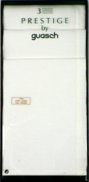 Guasch Prestige Linen Handkerchiefs *BCO