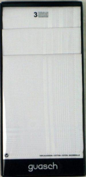 Guasch 3 Pack Handkerchiefs *52J
