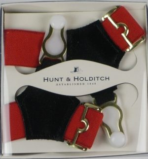 Hunt & Holditch Plain Sock Suspenders
