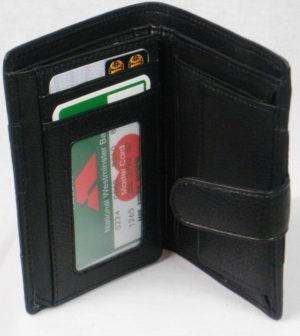 Rowallan Venetian In Black With Zip & Coin Pocket