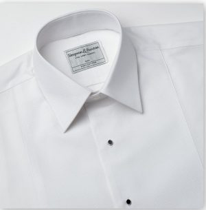 Simpson and Ruxton Marcella Standard Collar  Dress Shirt