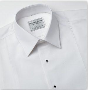 Simpson and Ruxton Marcella Standard Collar  Dress Shirt