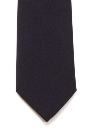 Lloyd Attree & Smith Plain Black Tie