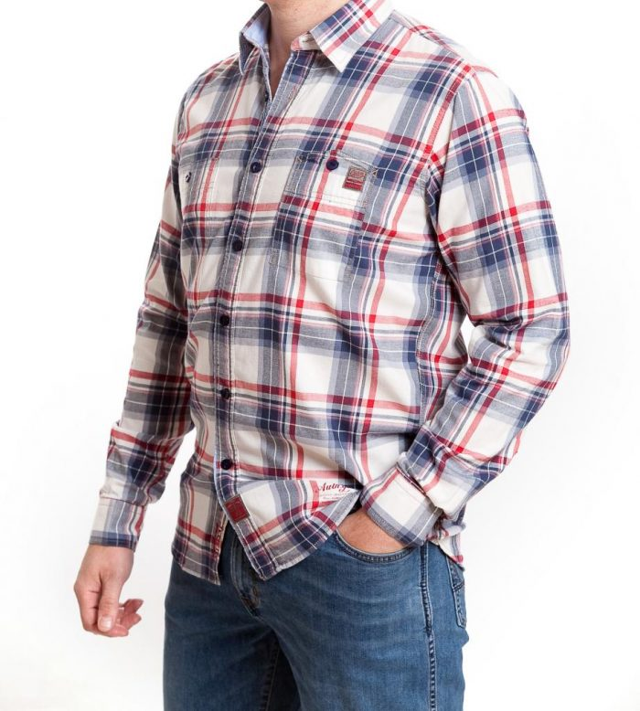 Storm Casual Cotton Twill Shirt - Turin
