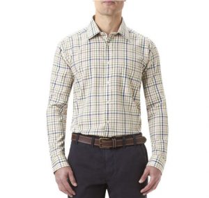 Barbour Buckden Check Shirt in Turf
