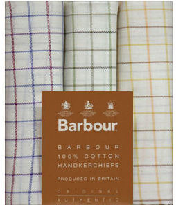 Barbour Fine Check Handkerchiefs