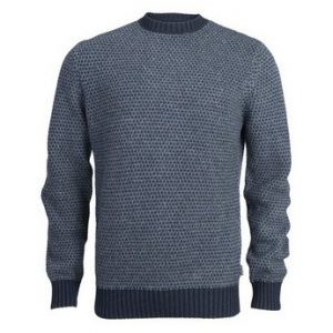 Barbour Hines Crew Neck Jumper-Navy