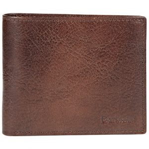 Barbour Leather Wallet-Dark Tan