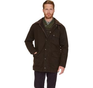 Barbour Rynie Waterproof Jacket-Olive
