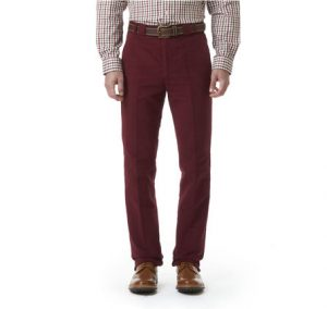 Barbour Traditional Fit Moleskin Trousers - Size 40R Only