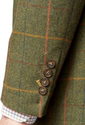 Brook Taverner Barrington Shooting Tweed Jacket