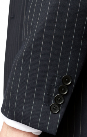 Brook Taverner Epsom  Suit Jacket - Pinstripe