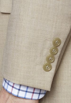 Brook Taverner Esher Suit Jacket Fawn