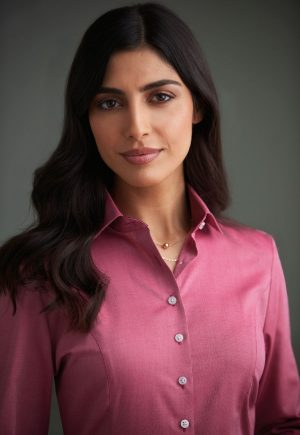 Brook Taverner Ladies Aspen Long Sleeve Shirt