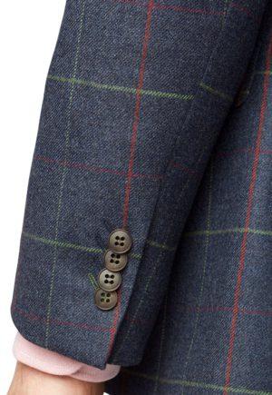 Brook Taverner Magnum 100% Wool Check Jacket