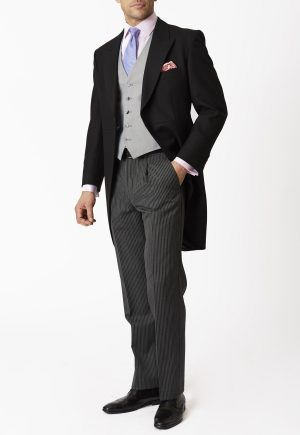 Brook Taverner Mayfair Morning Tailcoat - Black