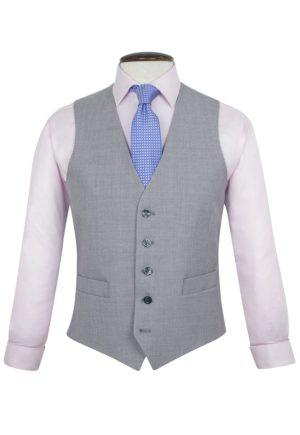 Brook Taverner Backless Waistcoat - Plain grey