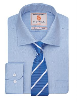 Brook Taverner Altare Premium Cotton + Extra Long - Blue