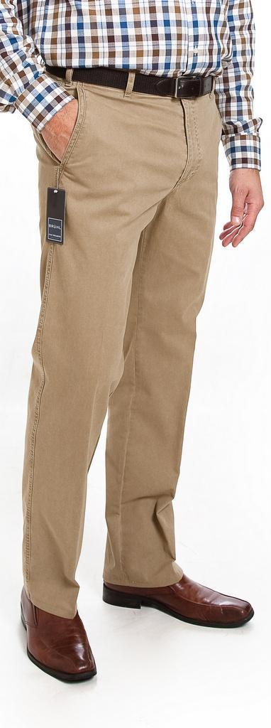 Bruhl Cotton Casual Trousers -  Dark Beige