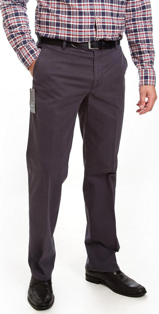 Bruhl Cotton Casual Trousers - Blue/Grey