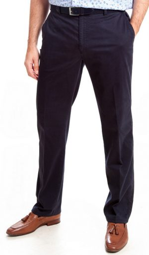 Bruhl  Cotton Trousers - Navy