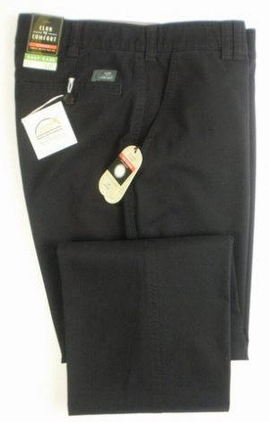 Club of Comfort Cotton Trousers - Navy