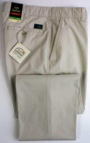 Club of Comfort cotton Trousers -  Stone