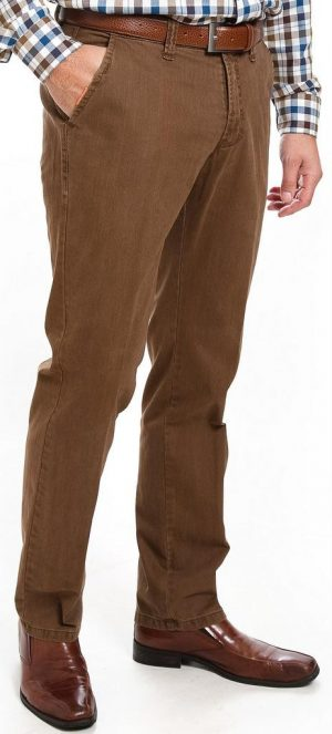 Club of Comfort cotton Trousers - Tan