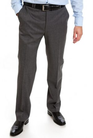 Club of Comfort Flat Front Trousers