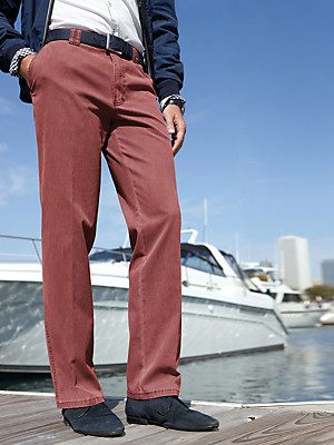 Club of Comfort Cotton Trousers - Dijon Fit