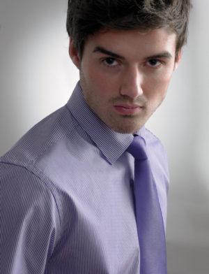 Disley Men's Business Stripe Shirt