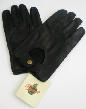 Failsworth Leather Gloves With Popper