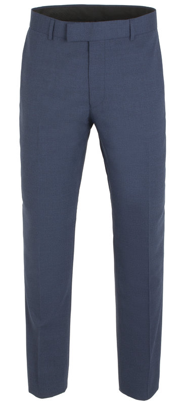 Gibson of London Suit Trousers- Plain Navy Twill