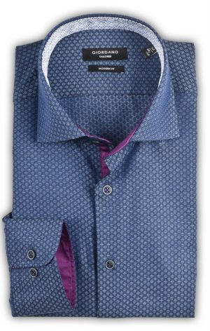 Giordano - Brooks Modern Fit Shirt - Blue