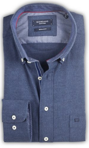 Giordano - Franklin Flannel Shirt - Blue