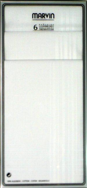Guash Marvin 6 Pack Handkerchiefs *BCO