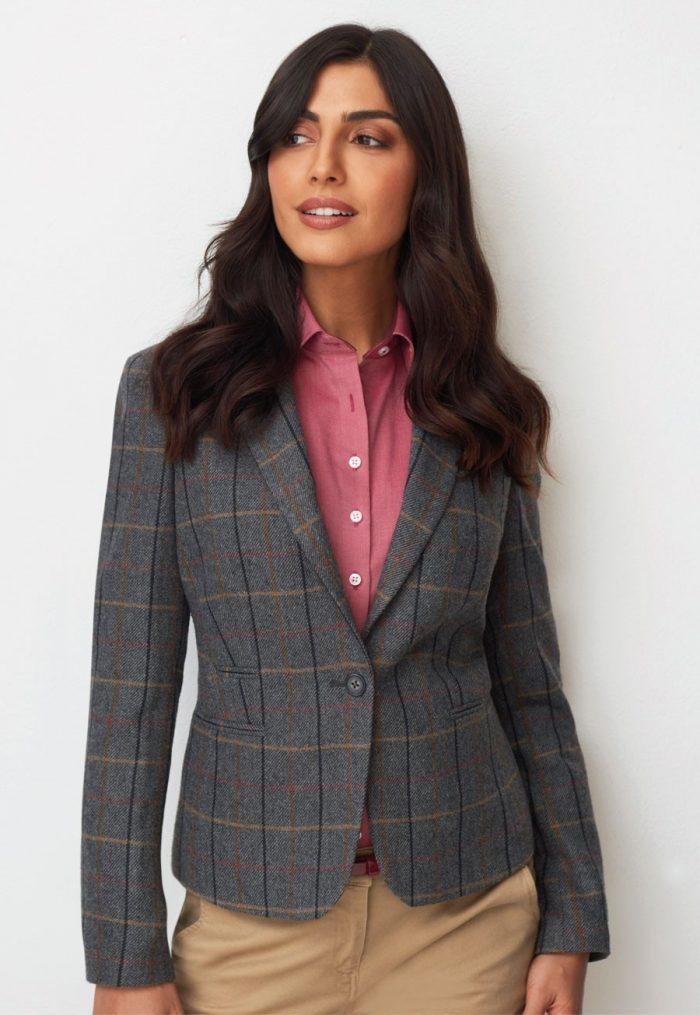 Brook Taverner Ladies Montreal Tweed Jacket