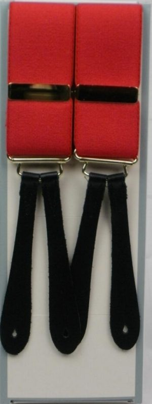 Hunt and Holditch Leather End Braces