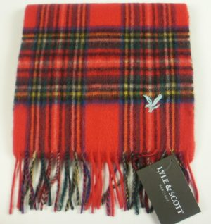 Lyle & Scott Lambswool Check Scarves