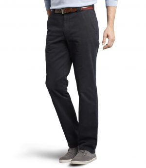 Meyer Stretch Chino Colourfast Roma Trouser- Navy