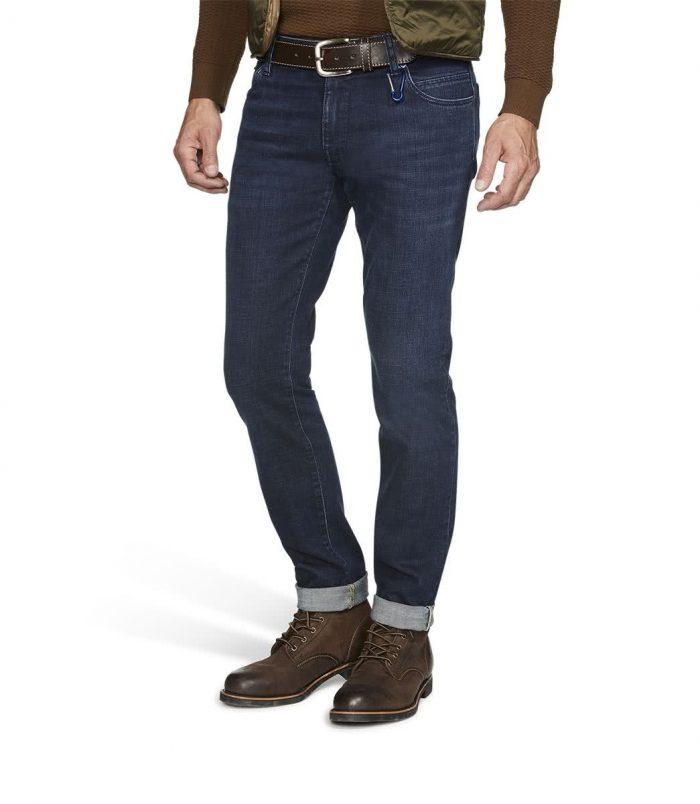 Meyer M5 Denim Slim Fit Jeans - Dark-Blue-Stone