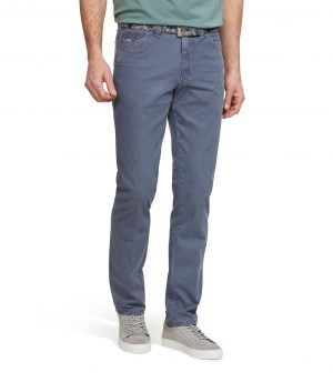 Meyer Micro Structure Oslo fit - Darkblue