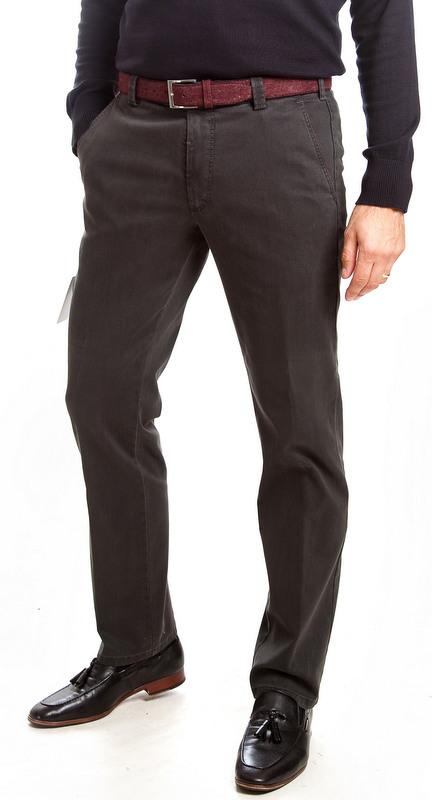 Meyer Super Stretch  New York Fit - Grey