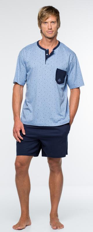 Guasch T-Shirt & Shorts - Blue