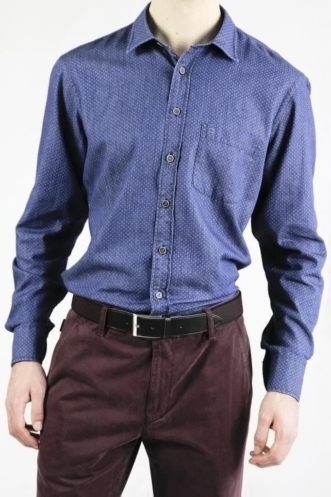 OLYMP Casual Indigo Shirt