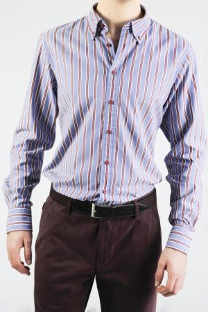 OLYMP Casual Striped Shirt