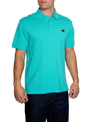 Raging Bull New Signature Polo - Turquiose