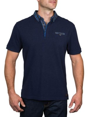 Raging Bull Shirt Collar Polo
