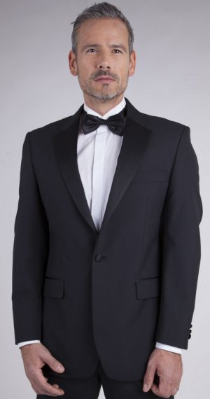 Scott Classic Dinner Suit Jacket - Black